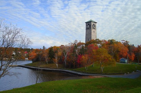 The Dingle Tower in Halifax, Nova Scotia is a a great free activity