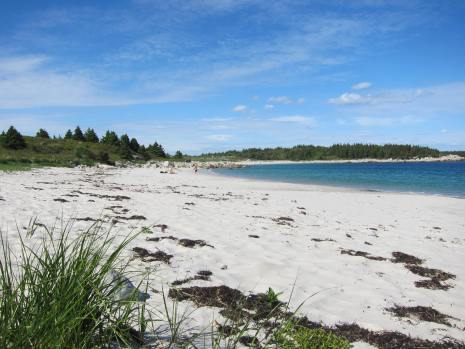 Crystal Crescent Beach in Nova Scotia, Canada
