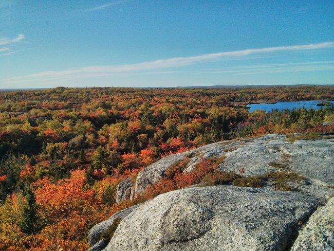 The Bluff Trail in Nova Scotia