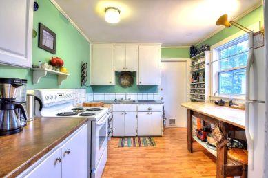 A newly updated kitchen in Halifax