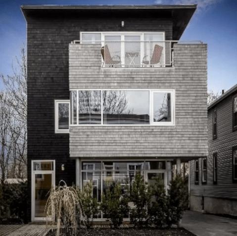 A modern Airbnb in Halifax, Nova Scotia