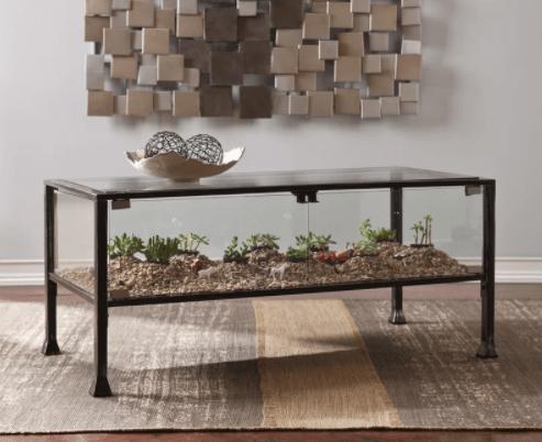 A Terrarium Coffee Table