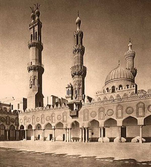 Al-Azhar mosque in Cairo is the largest Islamic university in the world.