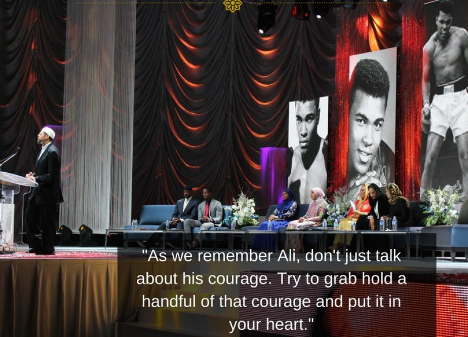 Muhammad Ali, the People's Champion, Honored at RIS_