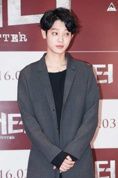 Jung Joon Young at the VIP premier of the movie Cutter March 2016