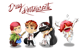 Fanart of Jung Joon Young and band Drug Restaurant