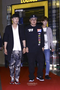 Jung Joon Young in VIP premiere of movie My Sassy Girl 2
