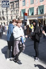 Jung Joon Young wearing black for filming Hit Maker in Germany