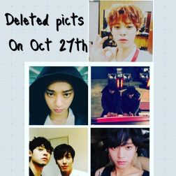 Jung Joon Young deleted some pictures on his Instagram on Oct 2016