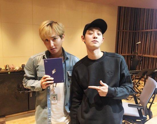 jung joon young guesting on kangta starry night radio show 2017