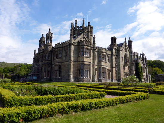 The Tudor-Gothic house at Margam Country Park