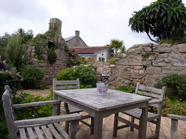 Ruin Beach Cafe on Tresco, Isles of Scilly