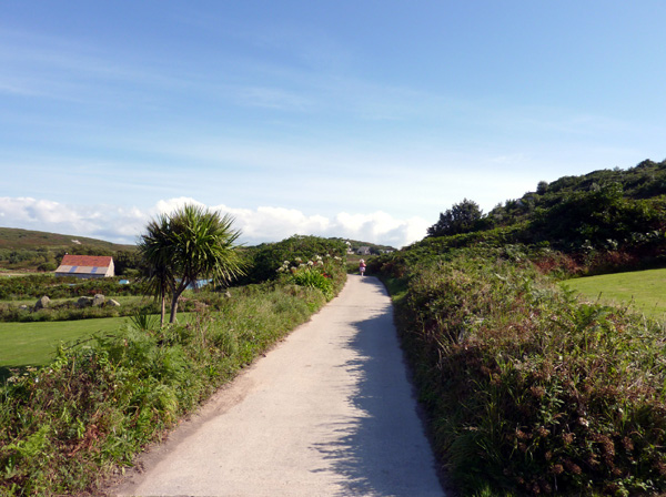 Main Road on Bryher, Isles of Scilly