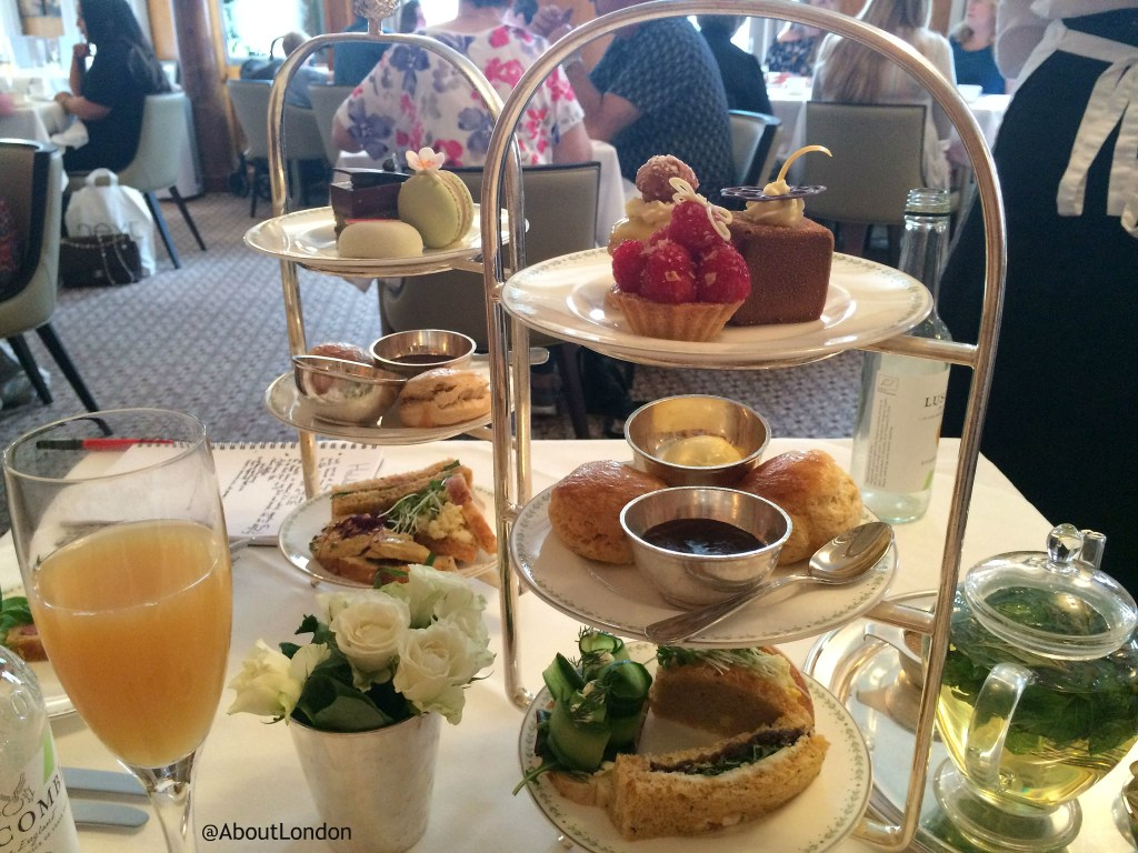 Bettys York afternoon tea cake stand
