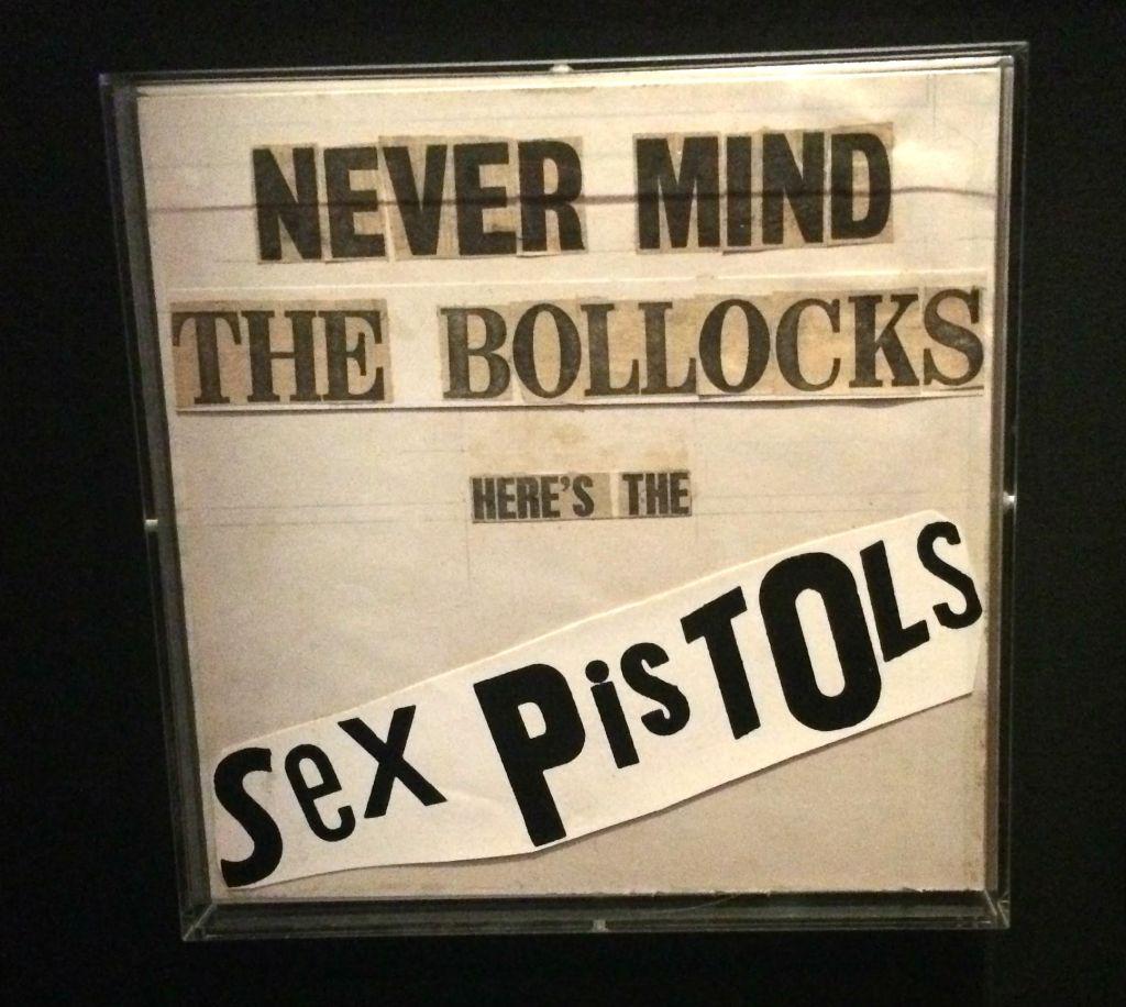 Never Mind The Bollocks Here's The Sex Pistols - original artwork