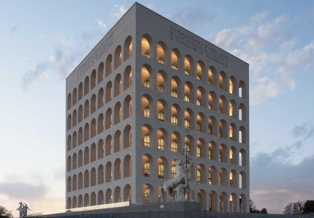 """""""Palazzo della Civiltà Italiana"""" in Rome"""