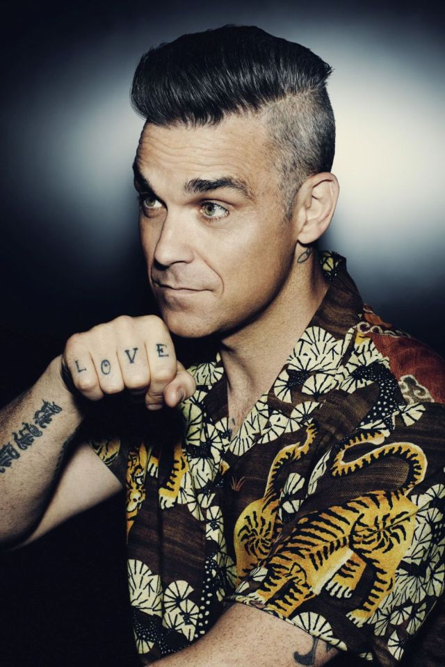 Robbie Williams 2016 2 -®SonyMusic