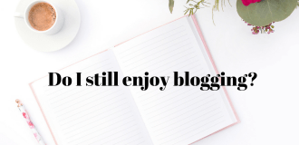 Do I still enjoy blogging ? (A year in review 2017)