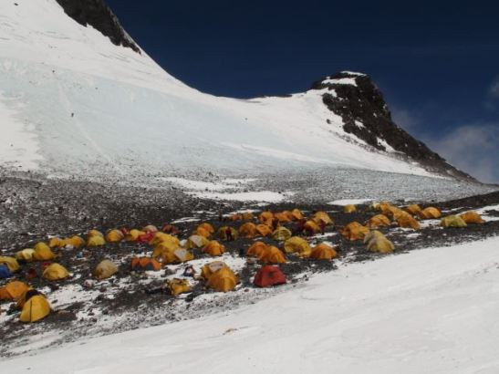 South Col. Everest