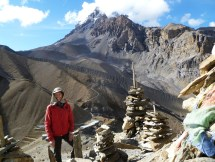 At Thorong La Pass
