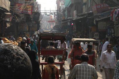 Delhi Jama Masjid Street