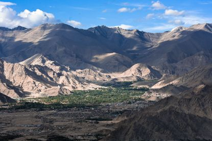 Leh viewed from Stok