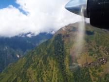 View seen from Lukla flight