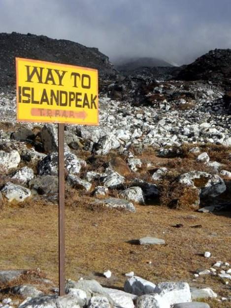 Island Peak entry