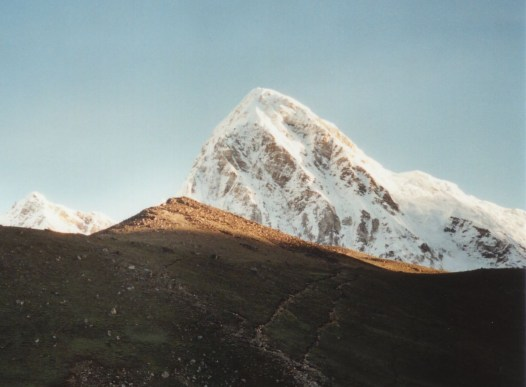 Mt Pumori seen from Kala Patthar