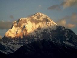 Sunset at Annapurna