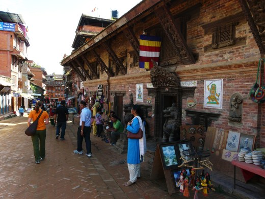 Durbar square market