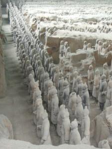 Терракотовая армия императора Цинь Шихуанди (https://www.flickr.com/photos/sheeprus/)