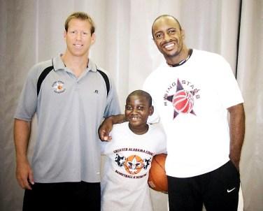Jay Williams & Dan Gimpel @ Rising Stars Greater Alabama Clinic