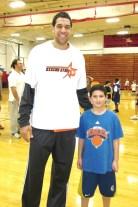 NY Knicks Landry Fields @ Rising Stars Knicks Clinic
