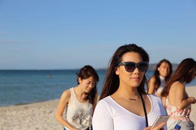 Me and my Quay Australia sunnies. Photographer Lien Hang.