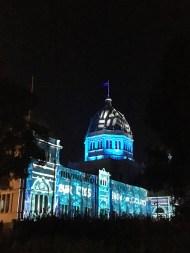 Royal Exhibition Building.