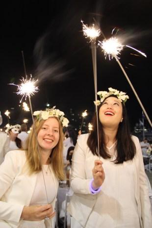 Fiona and Shauna sparkling!