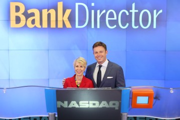 My exec coach, Ronni, and me @ NASDAQ's MarketSite
