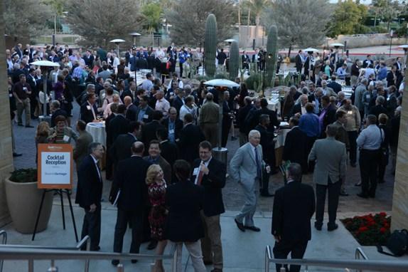 Sunday's reception (c/o Alstrin Photography)