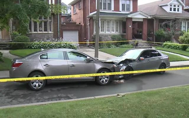 Car crash may be latest strike in Hamilton Mafia War