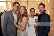 BEVERLY HILLS, CALIFORNIA - JULY 10: (L-R) Tom Ellis, Meaghan Oppenheimer, Lesley-Ann Brandt and Chrils Gilbert as The American Friends of Covent Garden Celebrates 50 Years With A Special Event For The Royal Opera House and The Royal Ballet at Jean Georges Beverly Hills on July 10, 2019 in Beverly Hills, California. (Photo by Stefanie Keenan/Getty Images for American Friends of Covent Garden)