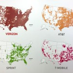 Cell phone coverage maps
