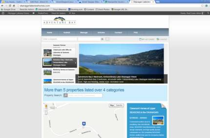 OkanaganLakeviewHomes.com :: Real Estate Listings Website