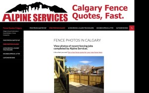FenceQuotesCalgary.com Contractor Website Project