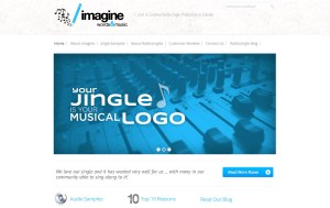 ImagineWordsandMusic.com Website Project