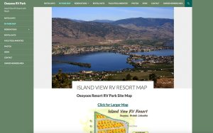 IslandViewRVresort.com Resort Website Project