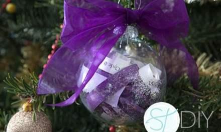 DIY   Χριστουγεννιάτικη μπάλα-προσκλητήριο