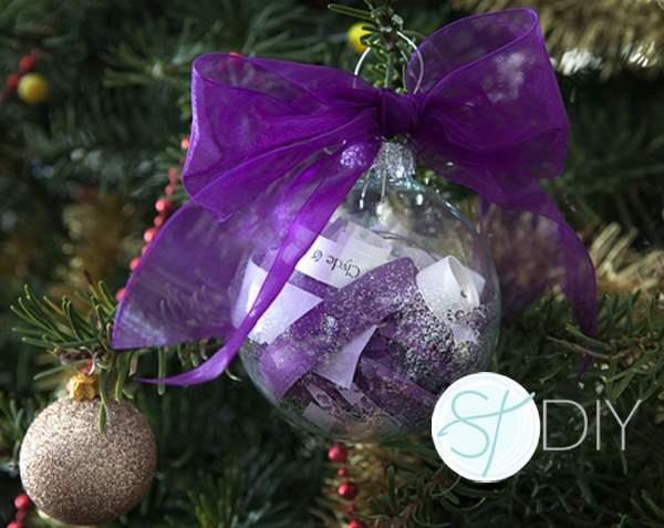 DIY | Χριστουγεννιάτικη μπάλα-προσκλητήριο