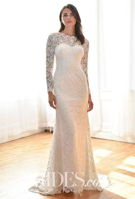 Wedding dress by David's Bridal