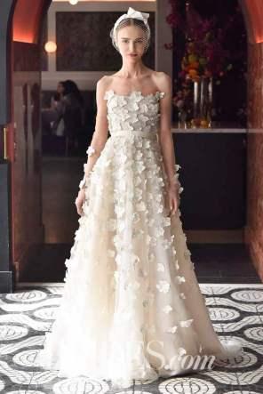 Rodin Banica / Indigital.tv Wedding dress by Lela Rose